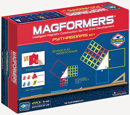 Magformers 47 Pieces Pythagoras Set