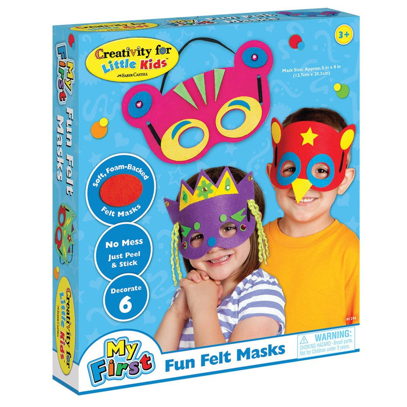 Creativity for Kids - 1296007 | Little Kids: My First Felt Mask Kit