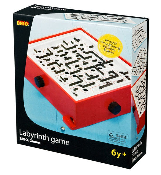 Brio Deluxe Labyrinth Tilt-Maze Game - 34020