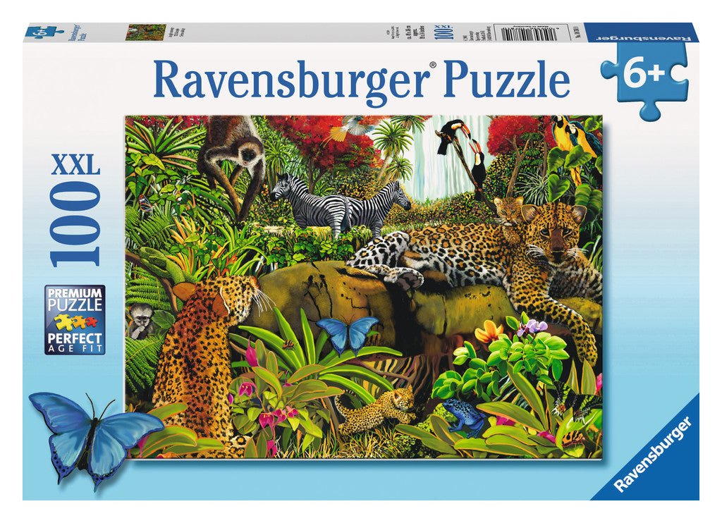 Ravensburger 100 Pieces Puzzle Wild Jungle - 10781