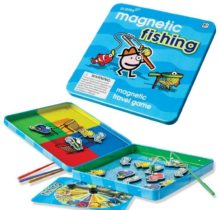 Toysmith Magnetic Fishing Travel Game - Goplay