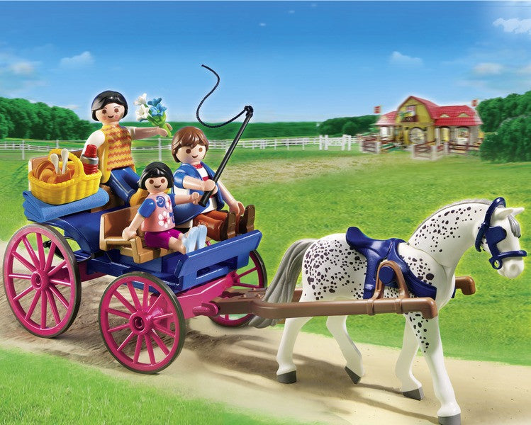 Playmobil Horse Drawn Carriage - 5226