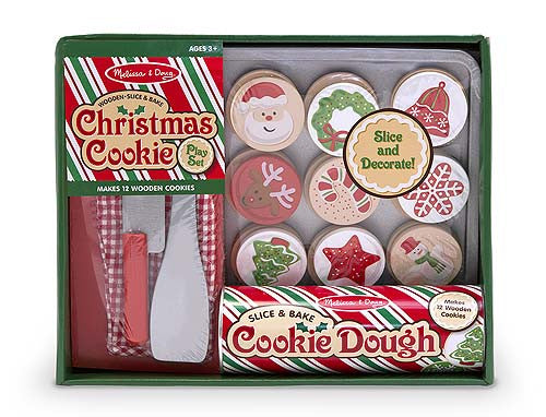 Melissa & Doug 15158 Slice And Bake Christmas Cookies Set