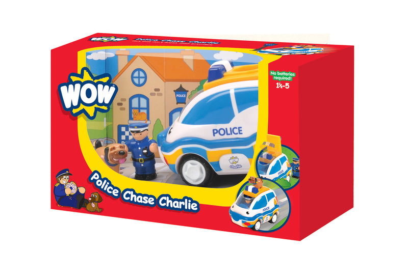 WOW Toys Police Chase Charlie Car