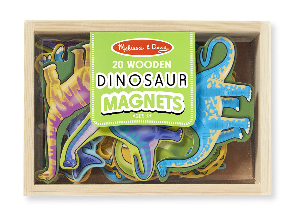 Melissa & Doug 10476 Wooden Dinosaur Magnets