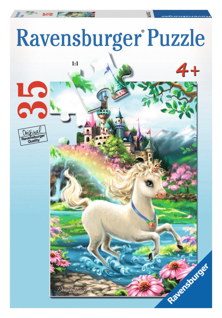 Ravensburger 35 Pieces Puzzle Unicorn Castle - 08765