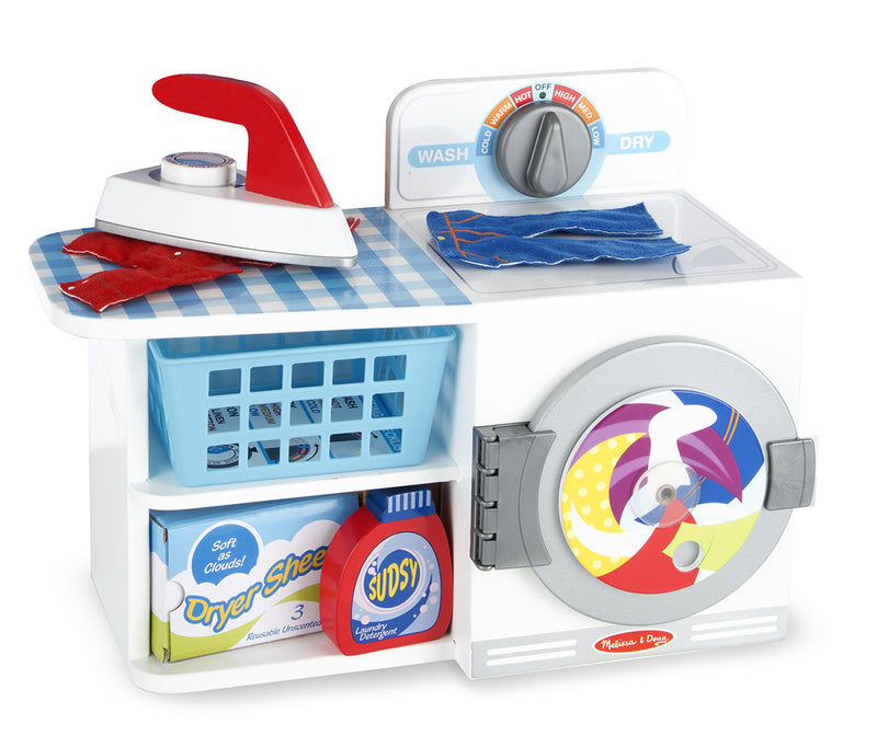Melissa & Doug 9352 Let's Play House! Wash, Dry And Iron