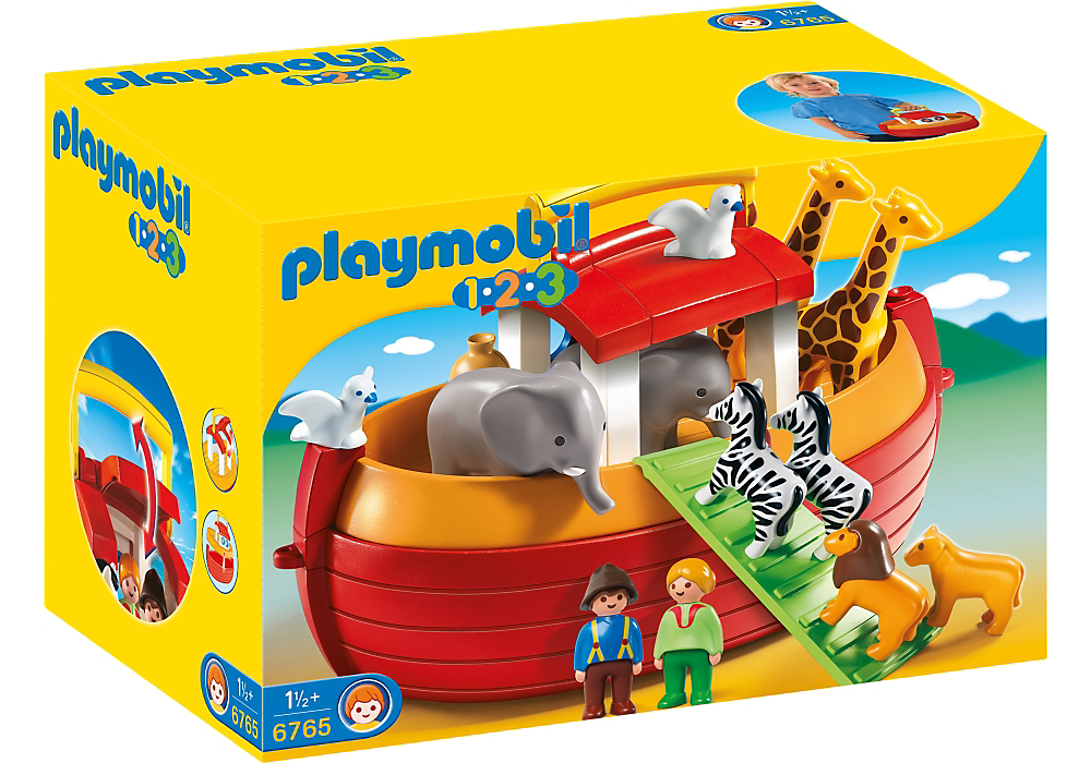 Playmobil 1-2-3 My Take Along Noah's Ark - 6765
