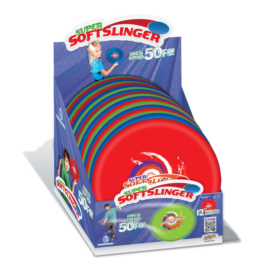 Super Softslinger 12-Inches Water Disc Asst.