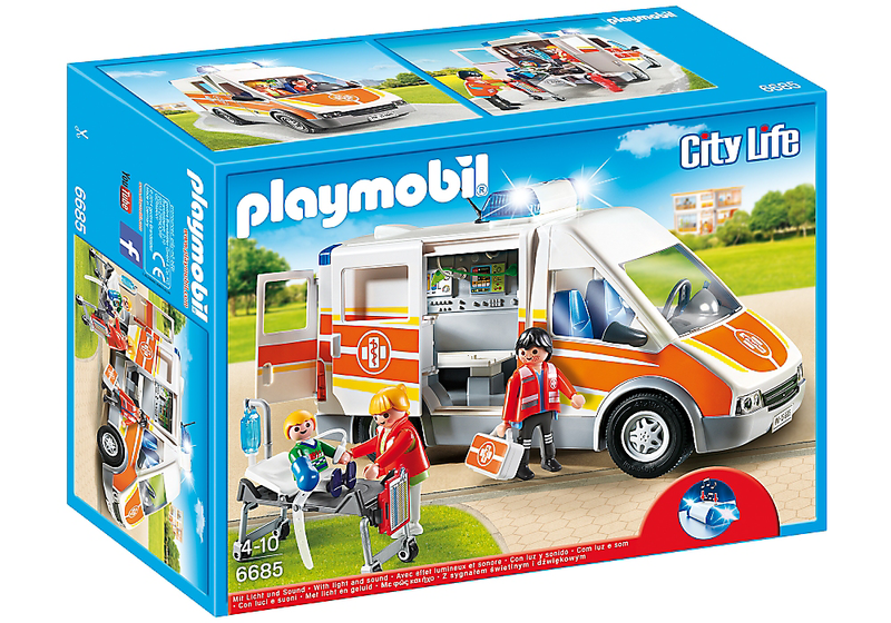 Playmobil Ambulance With Lights &Sound- 6685