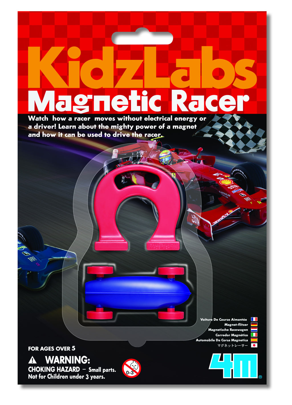 4M - P3290 | KidzLabs: Magnetic Racer Car