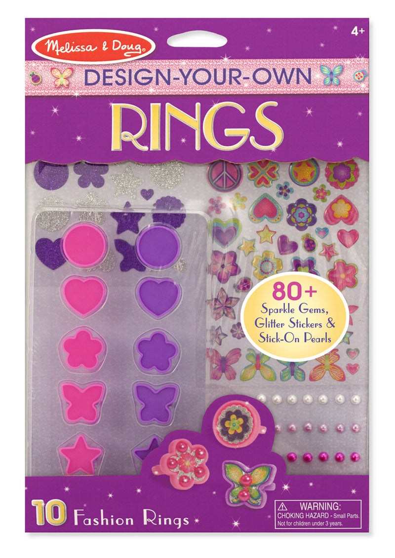 Melissa & Doug 9411 Decorate Your Own Rings
