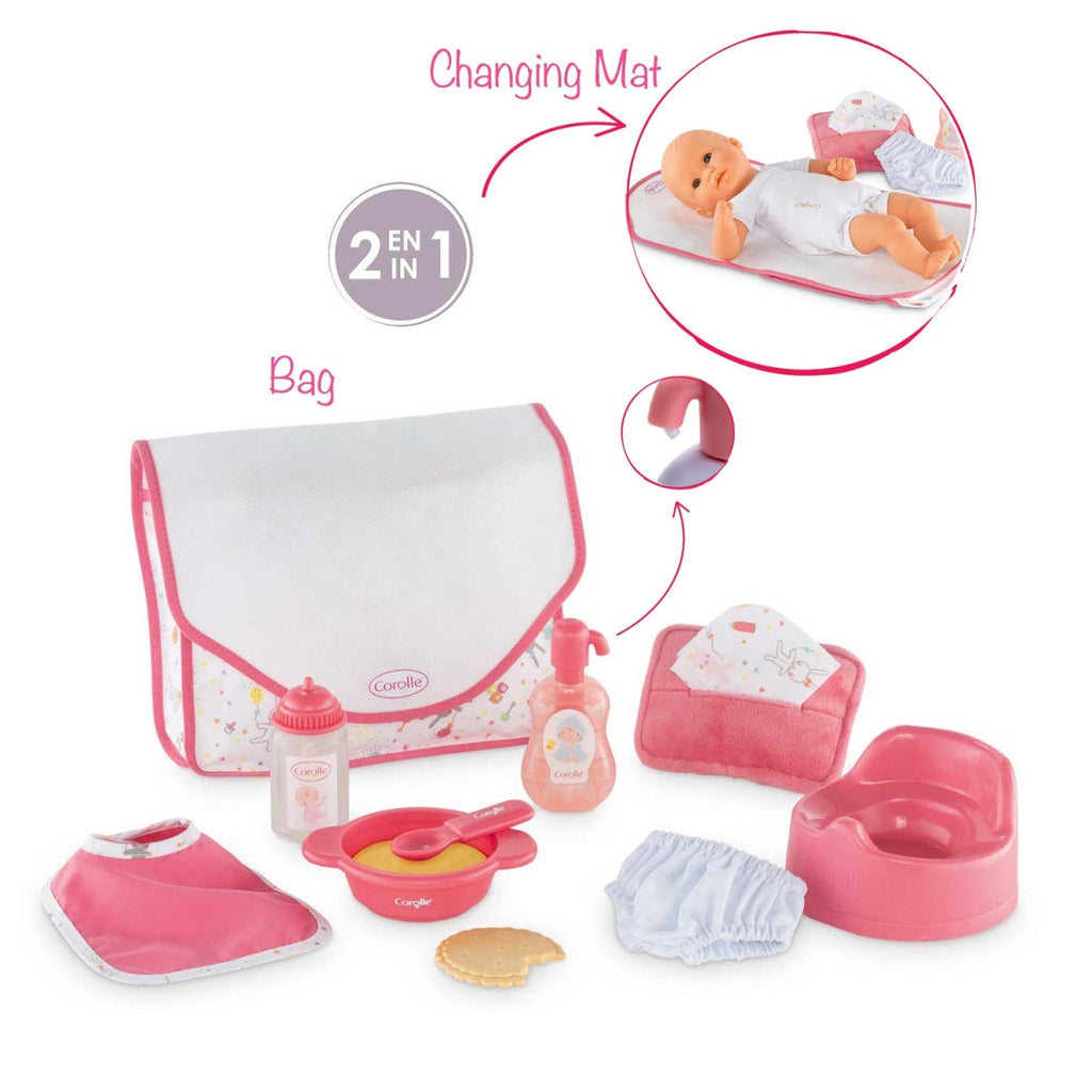Corolle DMT36 Mon 1 BB 12-Inches Doll LG Accessory Set