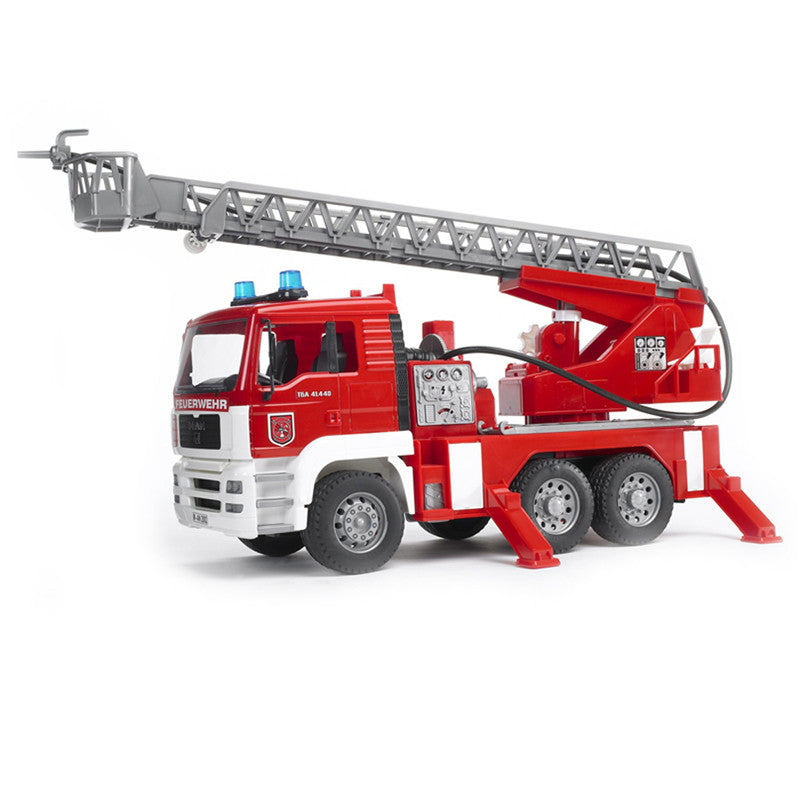 Bruder MAN TGA Fire Engine With Ladder, Pump, Light And Sound - 02771