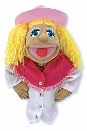 Melissa & Doug 2557 Cowgirl Puppet