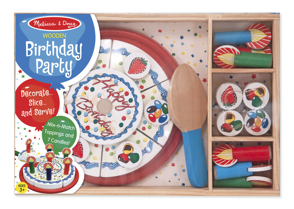 Melissa & Doug 10511 Wooden Birthday Cake