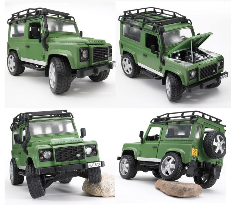 Bruder Land Rover Defender Green - 02590
