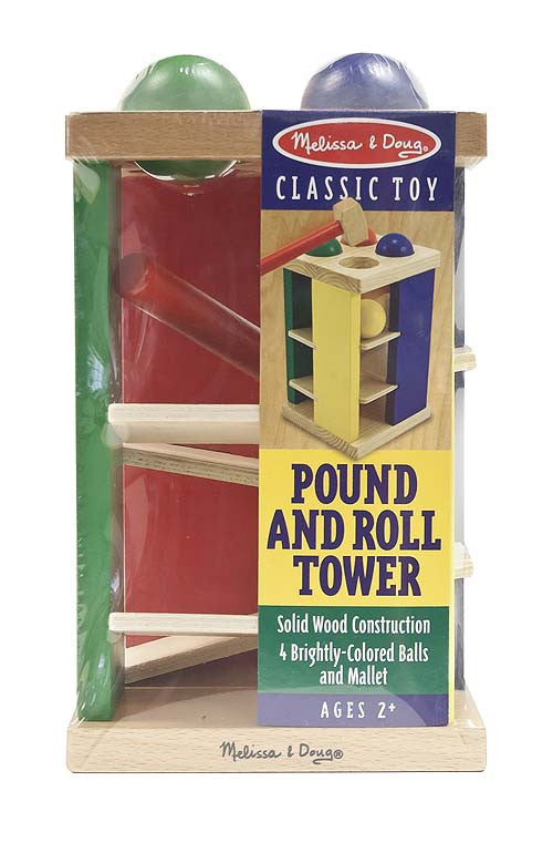 Melissa & Doug 13559 Pound And Roll Tower