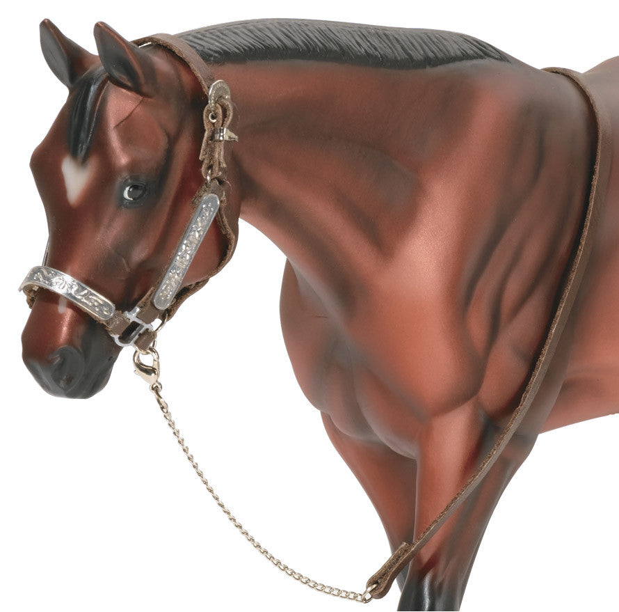 Breyer - 2490 | Traditional: Western Stock Show Halter With Lead