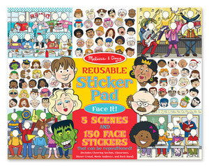 Melissa & Doug 9103 Reusable Sticker Pad - Face It