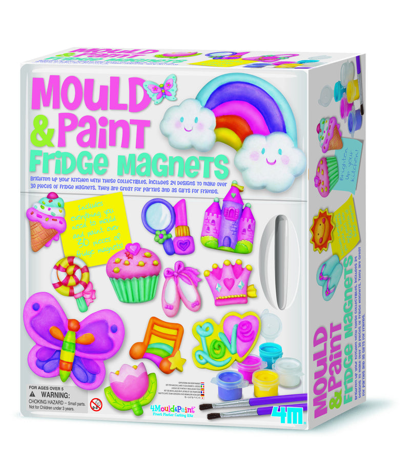 4M Mould & Paint Delux Fridge Magnets - P3536