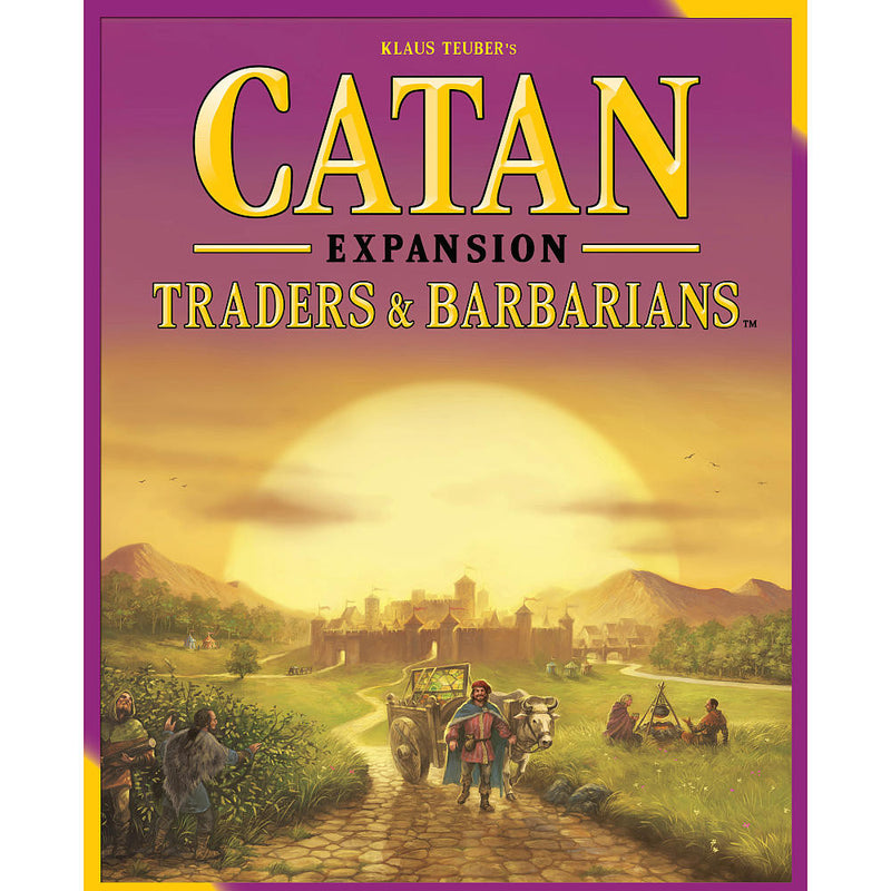 Catan Trader & Barbarian Game Expansion