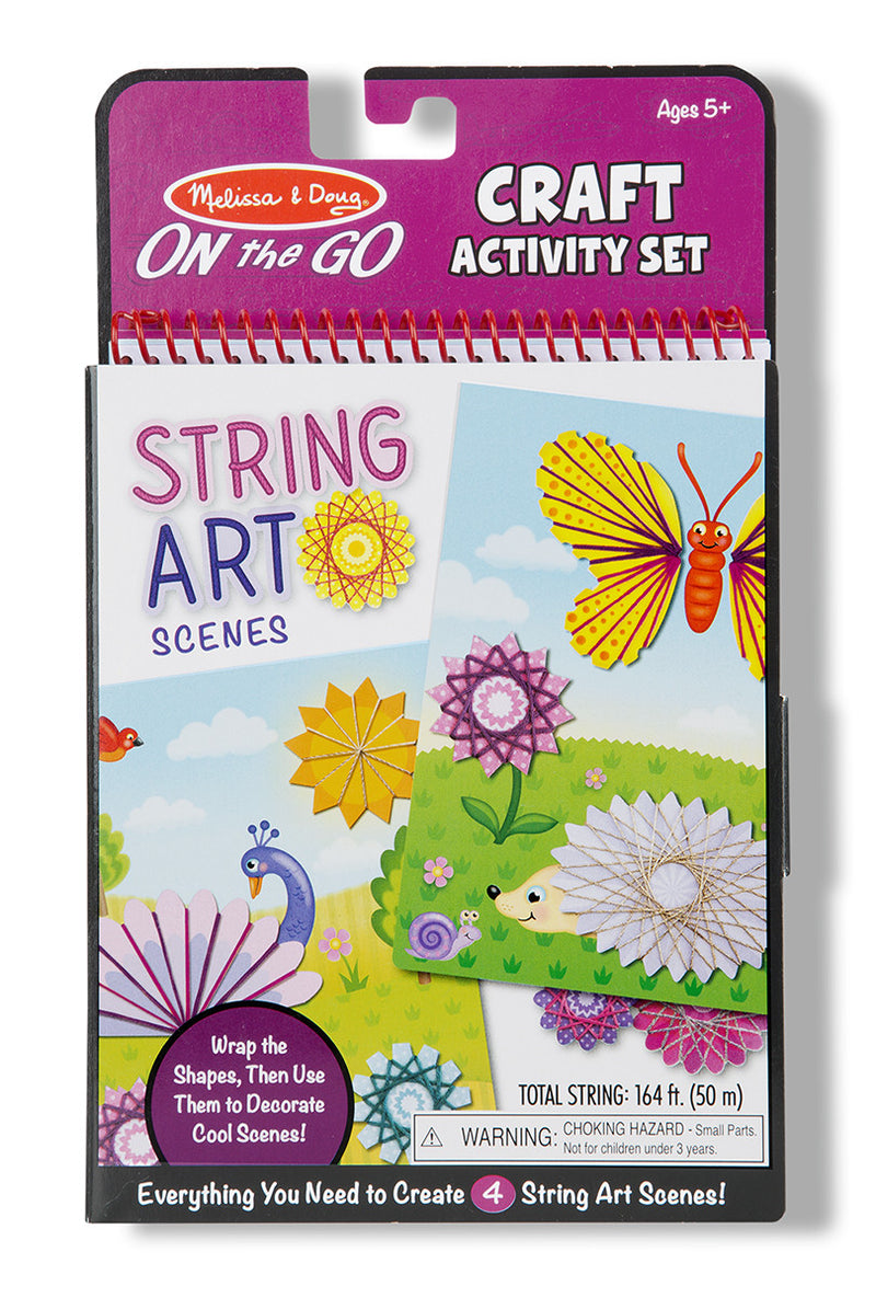 Melissa & Doug 9458 On-The-Go String Art Scene Activity