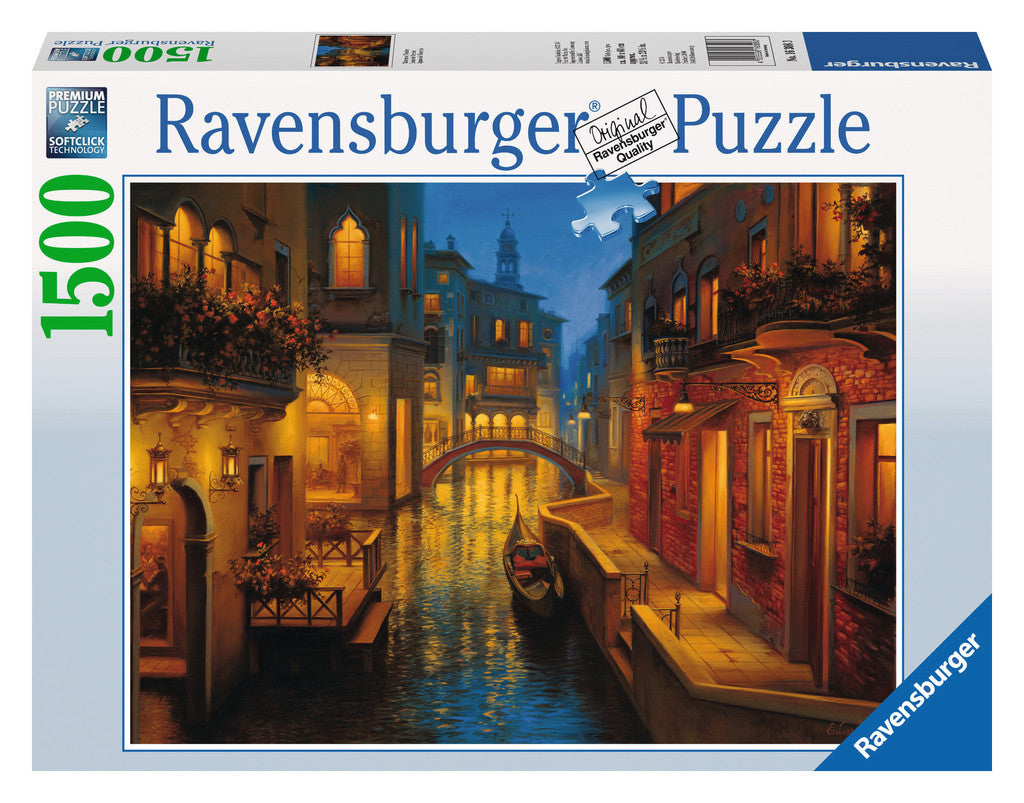 Ravensburger 1500 Pieces Puzzle Waters Of Venice - 16308