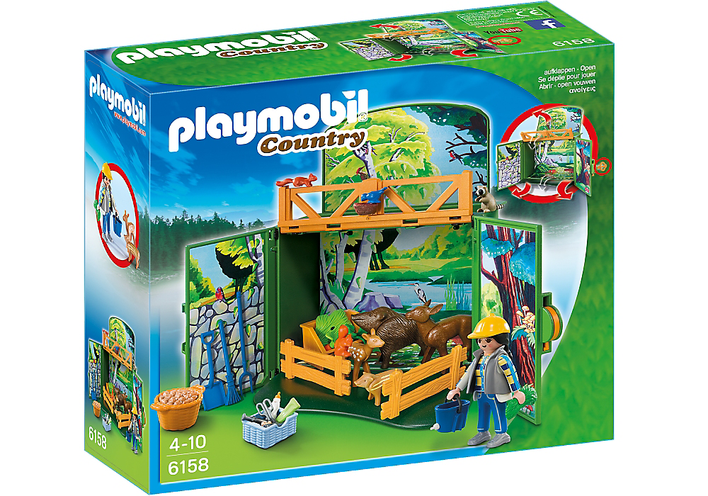 Playmobil My Secret Forest Animals - 6158