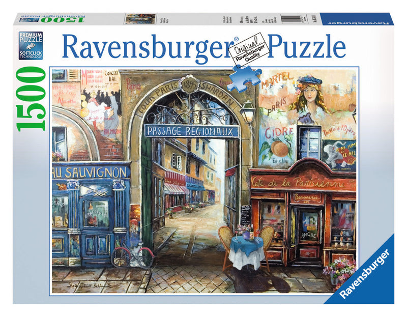 Ravensburger 1500 Pieces Puzzle Passage To Paris - 16241
