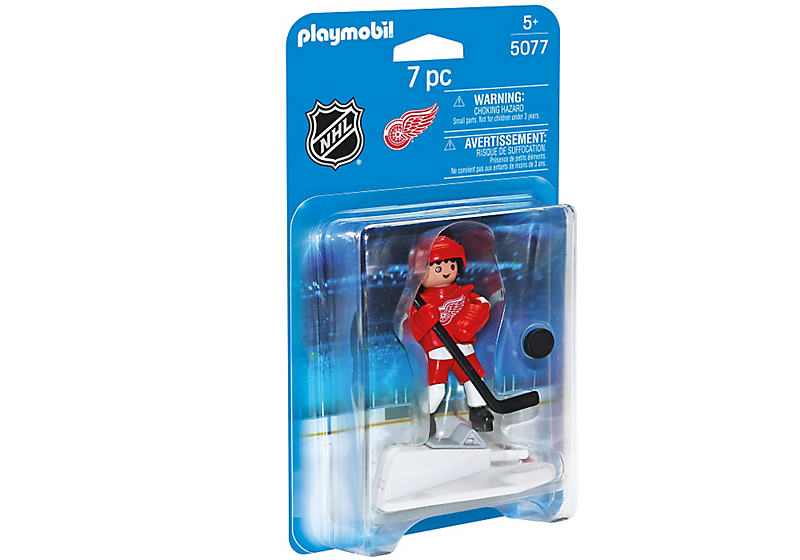 Playmobil - 5077 | NHL: Detroit Red Wings Player