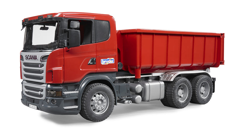 Bruder - 03522 | Construction: SCANIA R-Series With Roll-Off-Container