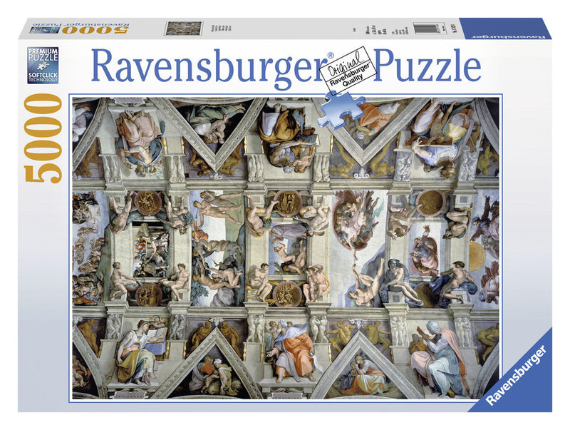 Ravensburger 5000 Pieces Puzzle Sistine Chapel - 17429
