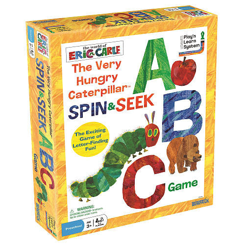 Very Hungry Caterpillar Spin & Seek ABC