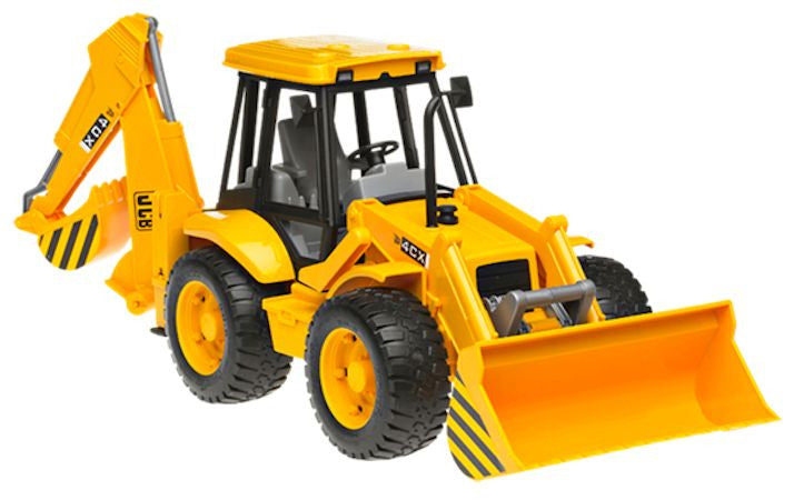Bruder Pro Series JCB 4CX Backhoe And Loader, Yellow - 02428