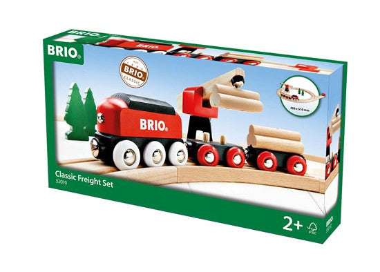 Brio Classic Train Freight Wooden Set - 33010