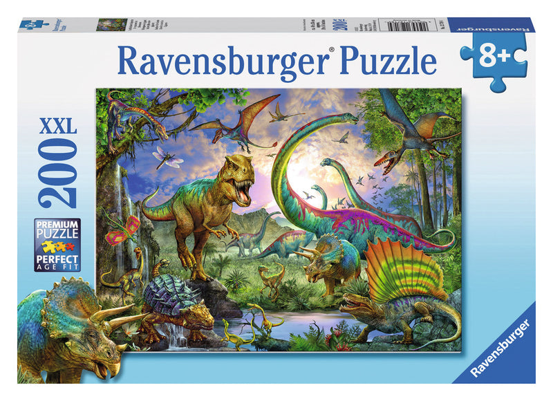 Ravensburger 200 Pieces Puzzle Realm Of The Dinosaurs - 12718