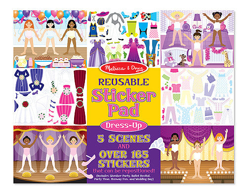 Melissa & Doug 14198 Reusable Sticker Pad - Dress Up