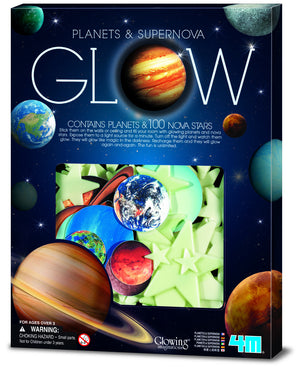 4M - P5631 | Glow: Glow-In-The-Dark Planets & Supernova