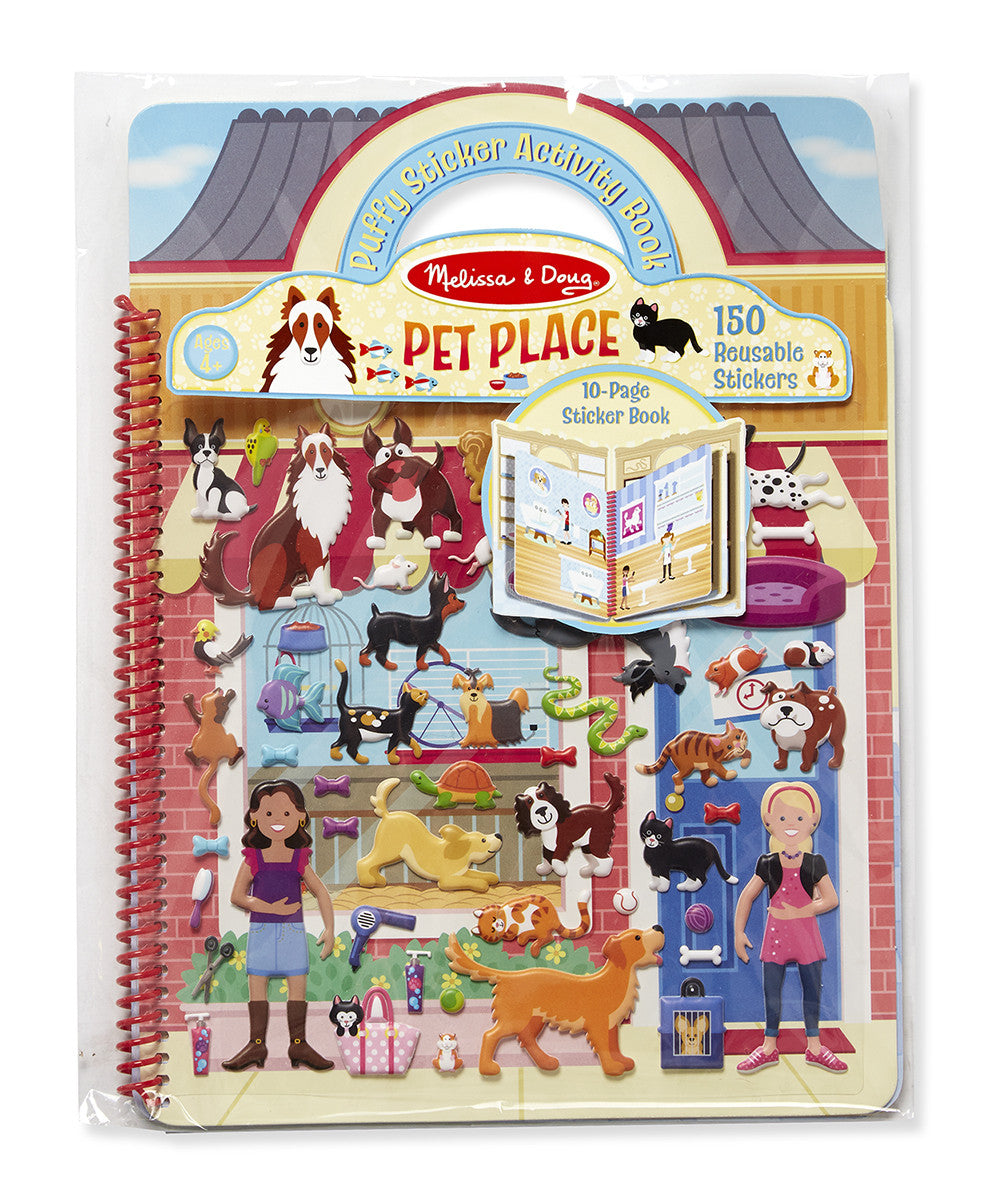 Melissa & Doug 19429 Puffy Sticker Pets Place Activity