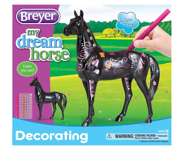 Breyer - 4204 | My Dream Horse: Decorate Your Horse (Gems & Markers)