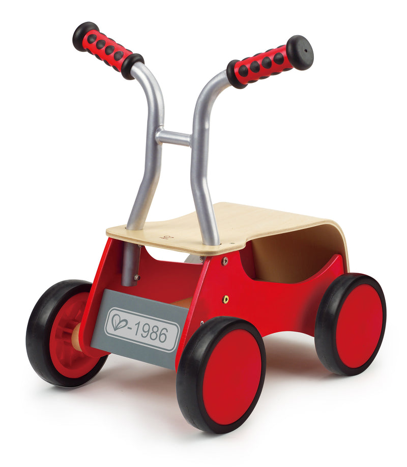 Hape Little Red Rider Wooden 4-Wheel - E0374