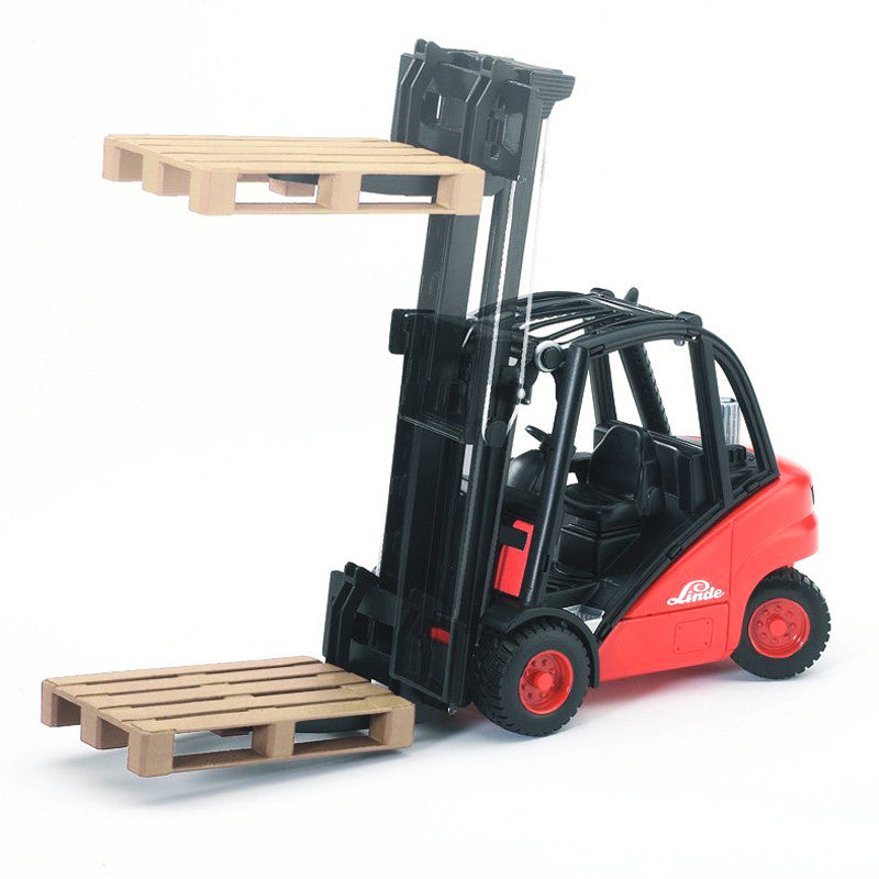 Bruder - 02511 | Commercial: Linde Fork Lift H30D With 2 Pallets