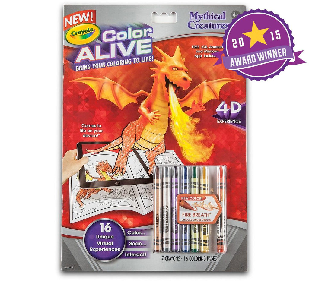 Crayola Colour Alive Mythical Creatures