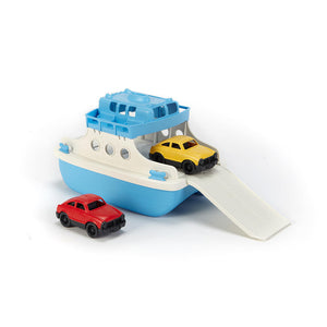 Green Toys Ferry Boat & 2 Cars FRBA-1038