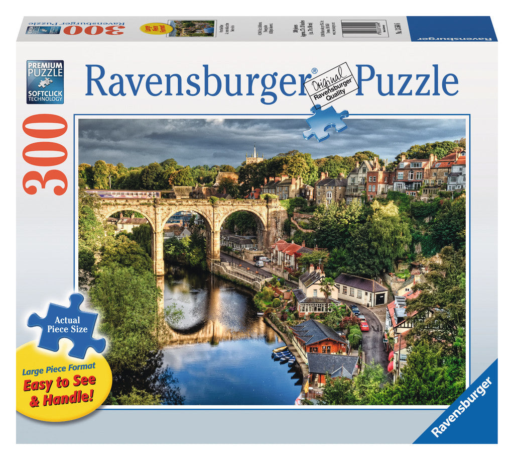 Ravensburger 300 Pieces Puzzle LG Over The River -13564