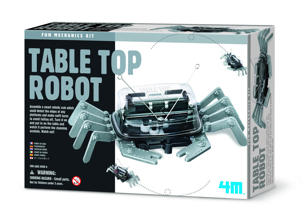 4M Table Top Robot Mechanics Kit - P3357