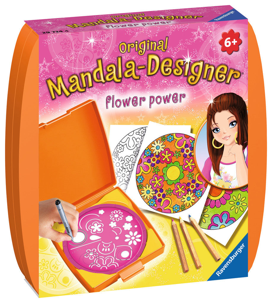 Ravensburger - 29734 | Mini Mandala-Designer - Flower Power