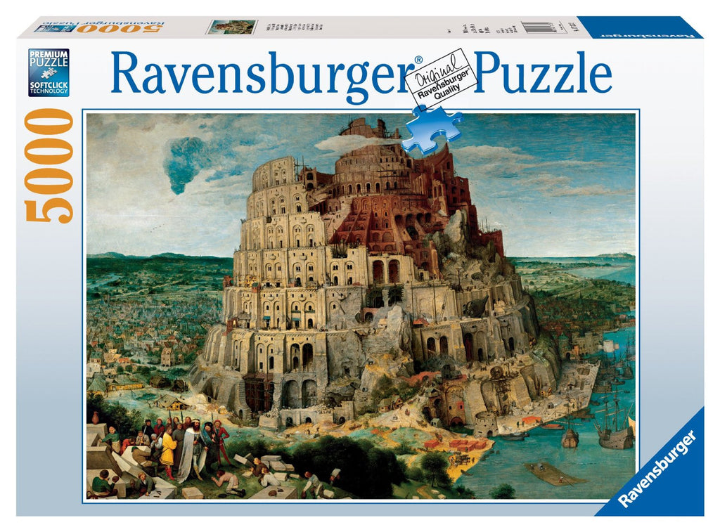 Ravensburger 5000 Pieces Puzzle Brueghel Babel Tower - 17423