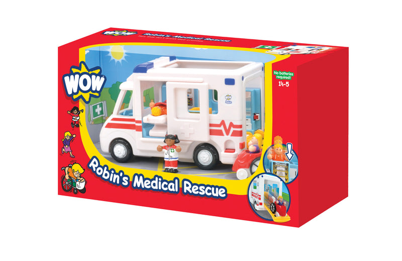 WOW Toys Robin's Rescue Ambulance